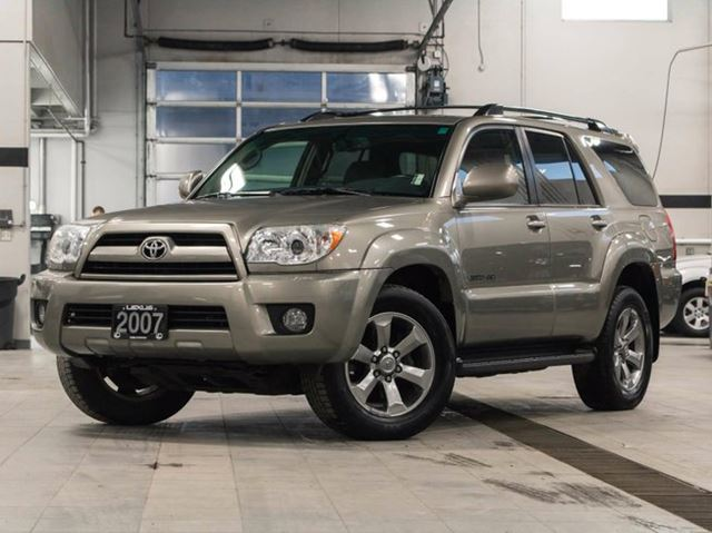 2007 toyota 4runner 4wd limited with jbl audio kelowna. Black Bedroom Furniture Sets. Home Design Ideas