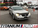 2003 Nissan Altima SL 2.5L+Heated Leather Seats+Sunroof+Keyless+ECO++ in London, Ontario