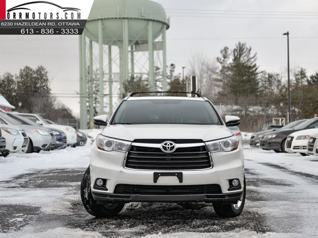 2015 toyota highlander limited awd v6 stittsville ontario used car for sale 2680570. Black Bedroom Furniture Sets. Home Design Ideas