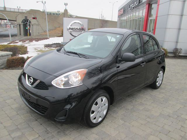 2015 nissan micra s 31000km longueuil quebec used car for sale 2680718. Black Bedroom Furniture Sets. Home Design Ideas