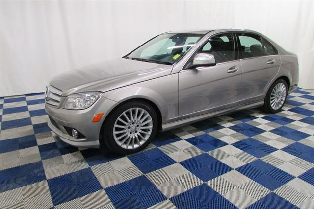 Used 2009 mercedes benz c class v 6 cy clean history low for Mercedes benz c class 2009