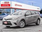 2014 Toyota Corolla LE One Owner, Toyota Serviced in London, Ontario