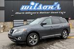 2013 Nissan Pathfinder Platinum w/ LEATHER! HEATED SEATS! REVERSE CAMERA! NAVIGATION! BLUETOOTH! in Guelph, Ontario