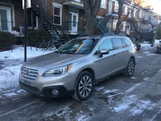 2016 subaru outback 3 6r limited w technology mississauga ontario used car for sale 2681459. Black Bedroom Furniture Sets. Home Design Ideas
