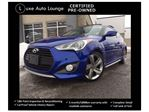 2013 Hyundai Veloster Turbo - NAVIGATION, HEATED LEATHER SEATS, SUNROOF, TECH PKG, BAL. OF HYUNDAI WARRANTY, LUXE CERTIFIED PRE-OWNED!! in Orleans, Ontario