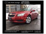 2013 Chevrolet Cruze LT Turbo - AUTO, XM RADIO, BLUETOOTH, CRUISE, REMOTE START, POWER GROUP, BAL. OF GM WARRANTY, LUXE CERTIFIED PRE-OWNED!! in Orleans, Ontario