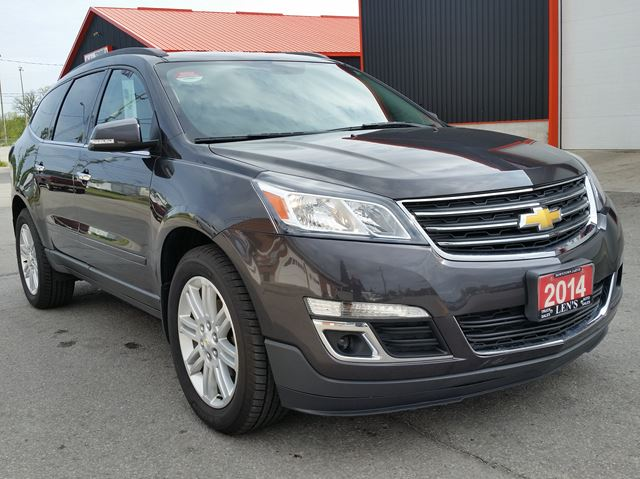 2014 chevrolet traverse 1lt awd jarvis ontario used car. Black Bedroom Furniture Sets. Home Design Ideas