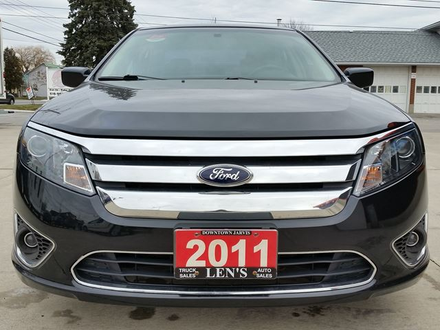 2011 ford fusion sel jarvis ontario used car for sale. Black Bedroom Furniture Sets. Home Design Ideas