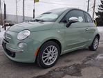 2012 Fiat 500 Lounge, BLUETOOTH, SUNROOF, LEATHER SEATS in Ottawa, Ontario