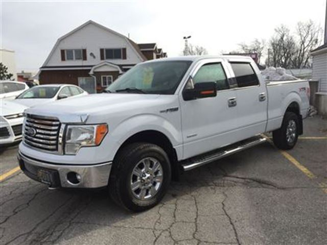 2011 ford f 150 xlt supercrew 4x4 ecoboost hagersville ontario used car for sale 2681843. Black Bedroom Furniture Sets. Home Design Ideas