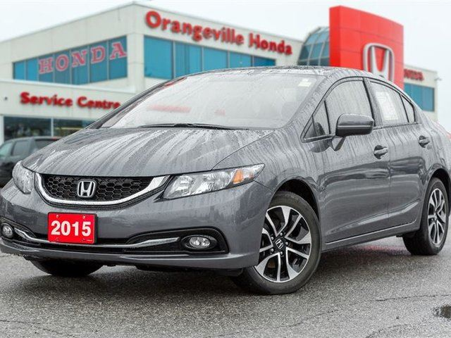 2015 honda civic ex orangeville ontario used car for sale 2681829. Black Bedroom Furniture Sets. Home Design Ideas