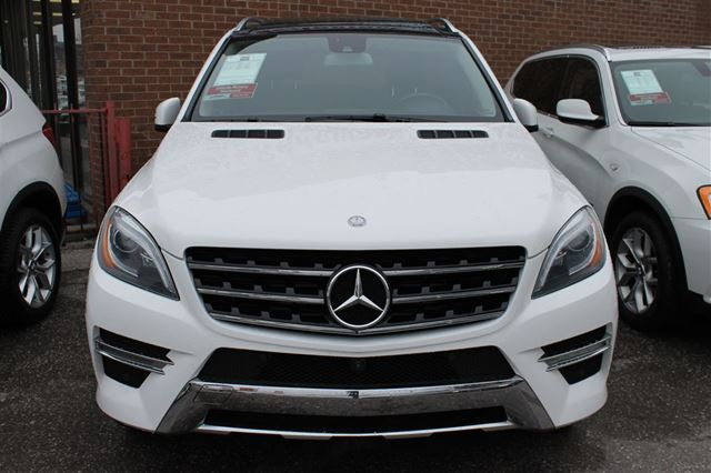 Used 2014 mercedes benz m class v 6 cy ml350 bluetec for Used mercedes benz toronto