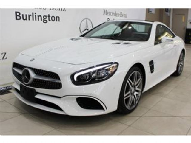 2017 Mercedes-Benz SL-Class 550 Roadster in Mississauga, Ontario