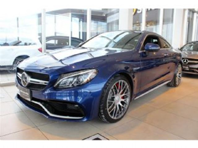 2017 Mercedes Benz C Class C63 Amg S Blue Lease Busters