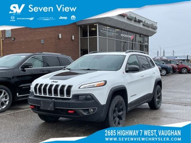 2017 jeep cherokee trailhawk leather plus concord ontario car for sale 2682028. Black Bedroom Furniture Sets. Home Design Ideas
