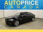 2013 BMW 5 Series X-Drive NAVIGATION MOONROOF in Mississauga, Ontario