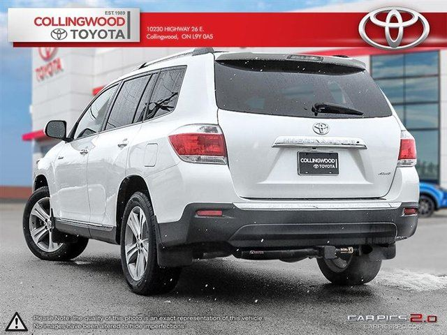 2011 toyota highlander v6 limited with leather navigation. Black Bedroom Furniture Sets. Home Design Ideas
