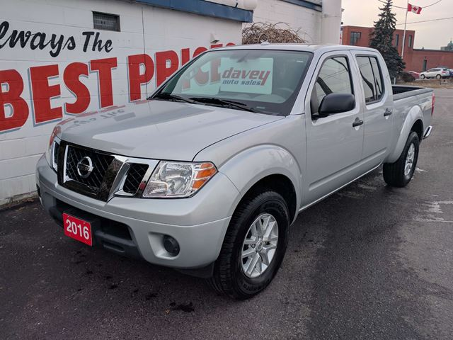 2016 nissan frontier sv 4x4 crewcab bluetooth oshawa ontario used car for sale 2682373. Black Bedroom Furniture Sets. Home Design Ideas