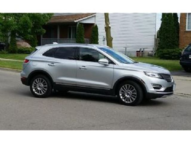 2016 lincoln mkc awd reserve mississauga ontario used car for sale 2682756. Black Bedroom Furniture Sets. Home Design Ideas