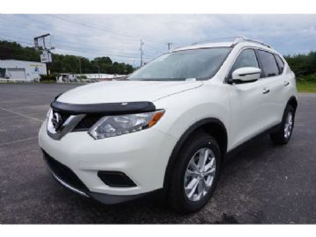 2016 nissan rogue awd 4dr sv white lease busters. Black Bedroom Furniture Sets. Home Design Ideas