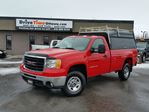 2007 GMC Sierra 2500  REGULAR CAB in Ottawa, Ontario