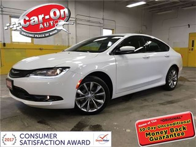 2015 Chrysler 200 S Leather Ottawa Ontario Used Car For