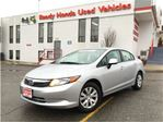 2012 Honda Civic LX - New Tires - B.Tooth in Mississauga, Ontario