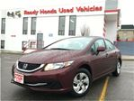 2013 Honda Civic LX - Auto   Air   Heated Seats   B.Tooth in Mississauga, Ontario