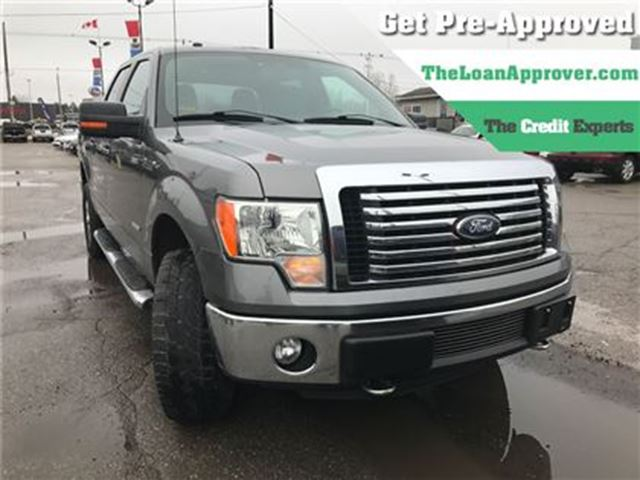 2012 FORD F-150 XLT   ECOBOOST   4X4   SAT RADIO in London, Ontario