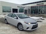 2015 Toyota Corolla LE Back Up Cam, Bluetooth, Auto Headlights in Edmonton, Alberta