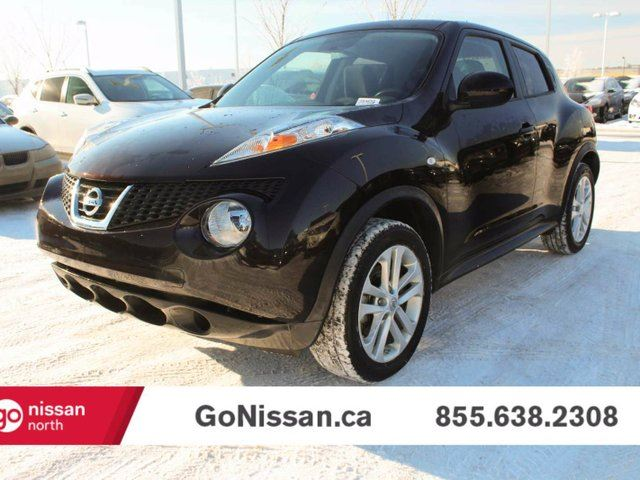 2014 nissan juke sv 4dr all wheel drive black go nissan. Black Bedroom Furniture Sets. Home Design Ideas