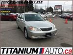 2002 Toyota Camry XLE+Leather Heated Seats+New Tires & Brakes+Fogs++ in London, Ontario