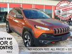 2014 Jeep Cherokee TRAILHAWK, GREAT CONDITION, LEATHER in Bonnyville, Alberta