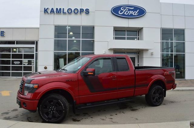 2014 ford f 150 fx4 4x4 supercab 6 5 ft box 145 in wb kamloops british columbia used car. Black Bedroom Furniture Sets. Home Design Ideas