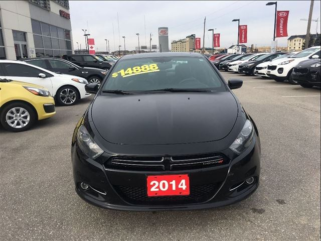 2014 dodge dart gt top of the line grimsby ontario used car for sale 2682786. Black Bedroom Furniture Sets. Home Design Ideas