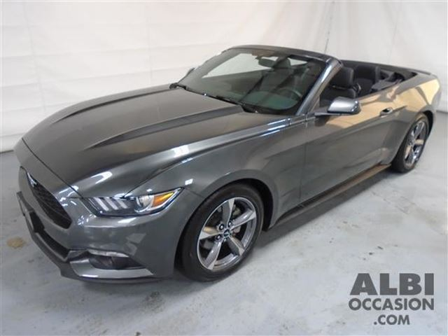 2016 ford mustang v6 convertible mascouche quebec used car for sale. Black Bedroom Furniture Sets. Home Design Ideas