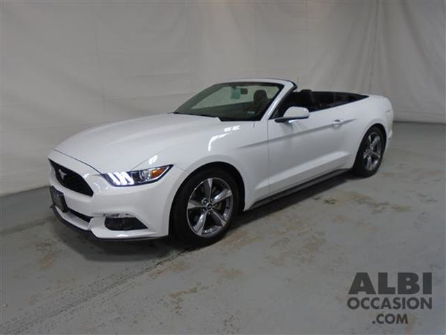 2016 ford mustang v6 convertible mascouche quebec used car for sale 2683397. Black Bedroom Furniture Sets. Home Design Ideas