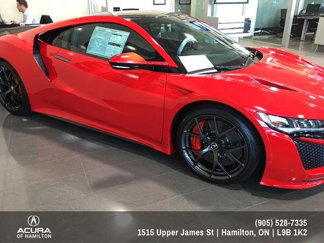 2017 acura nsx base hamilton ontario used car for sale 2682904. Black Bedroom Furniture Sets. Home Design Ideas