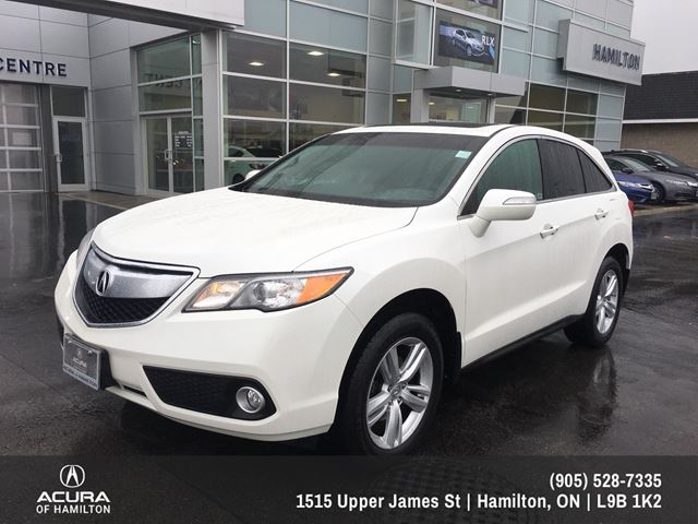 2013 acura rdx base tech package white acura of hamilton. Black Bedroom Furniture Sets. Home Design Ideas