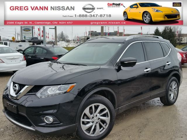 2015 nissan rogue sl awd w nav all leather pwr group rear cam climate control cambridge. Black Bedroom Furniture Sets. Home Design Ideas