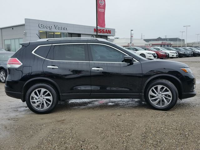 2015 nissan rogue sl awd w nav all leather pwr group rear cam climate control black greg vann. Black Bedroom Furniture Sets. Home Design Ideas