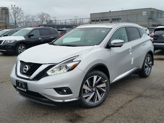 2017 nissan murano platinum silver sherway nissan new car. Black Bedroom Furniture Sets. Home Design Ideas
