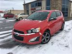 2013 Chevrolet Sonic RS Auto LEATHER MOON ROOF in St Catharines, Ontario