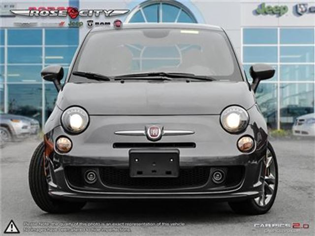used 2015 fiat 500 sport turbo low km 39 s co car as new. Black Bedroom Furniture Sets. Home Design Ideas