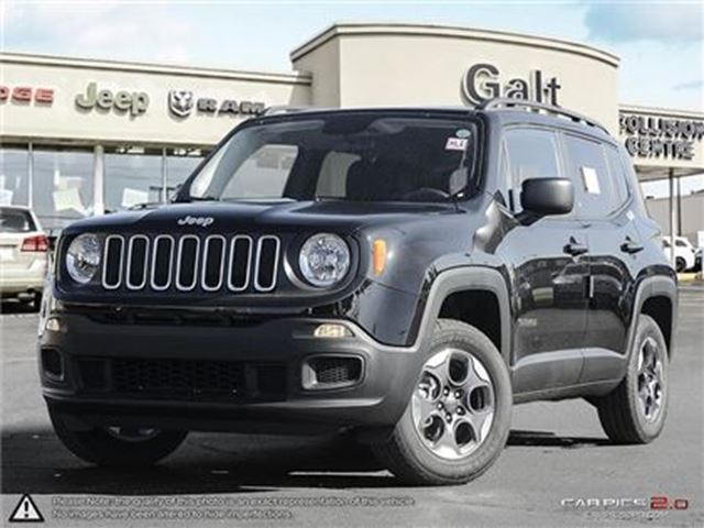 2016 jeep renegade sport 4x4 x company demo back up cam sport cambridge ontario used car for. Black Bedroom Furniture Sets. Home Design Ideas