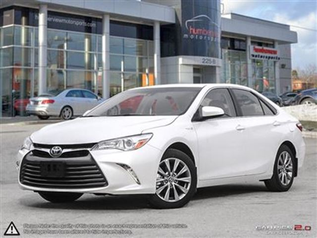 2017 toyota camry hybrid xle no charge winter tire package white humberview. Black Bedroom Furniture Sets. Home Design Ideas
