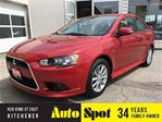 2015 Mitsubishi Lancer SE/PRICED FOR A QUICK SALE! in Kitchener, Ontario