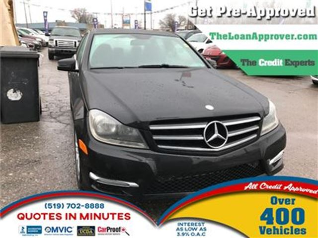 2014 MERCEDES-BENZ C-CLASS C300 4MATIC   LEATHER   ROOF   HEATED SEATS in London, Ontario