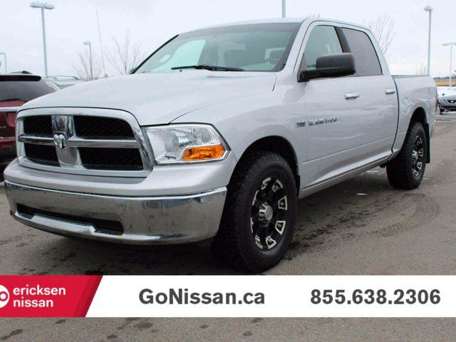 2011 DODGE RAM 1500 SLT, 4x4, Hemi Crew Cab, with aftermarket rims in Edmonton, Alberta