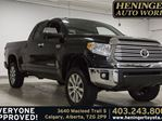 2015 Toyota Tundra 4x4 Dbl Cab Ltd 5.7 6A Technology Package in Calgary, Alberta
